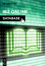 International Bibliography of Periodical Literature on the Humanities and Social Sciences (IBZ)